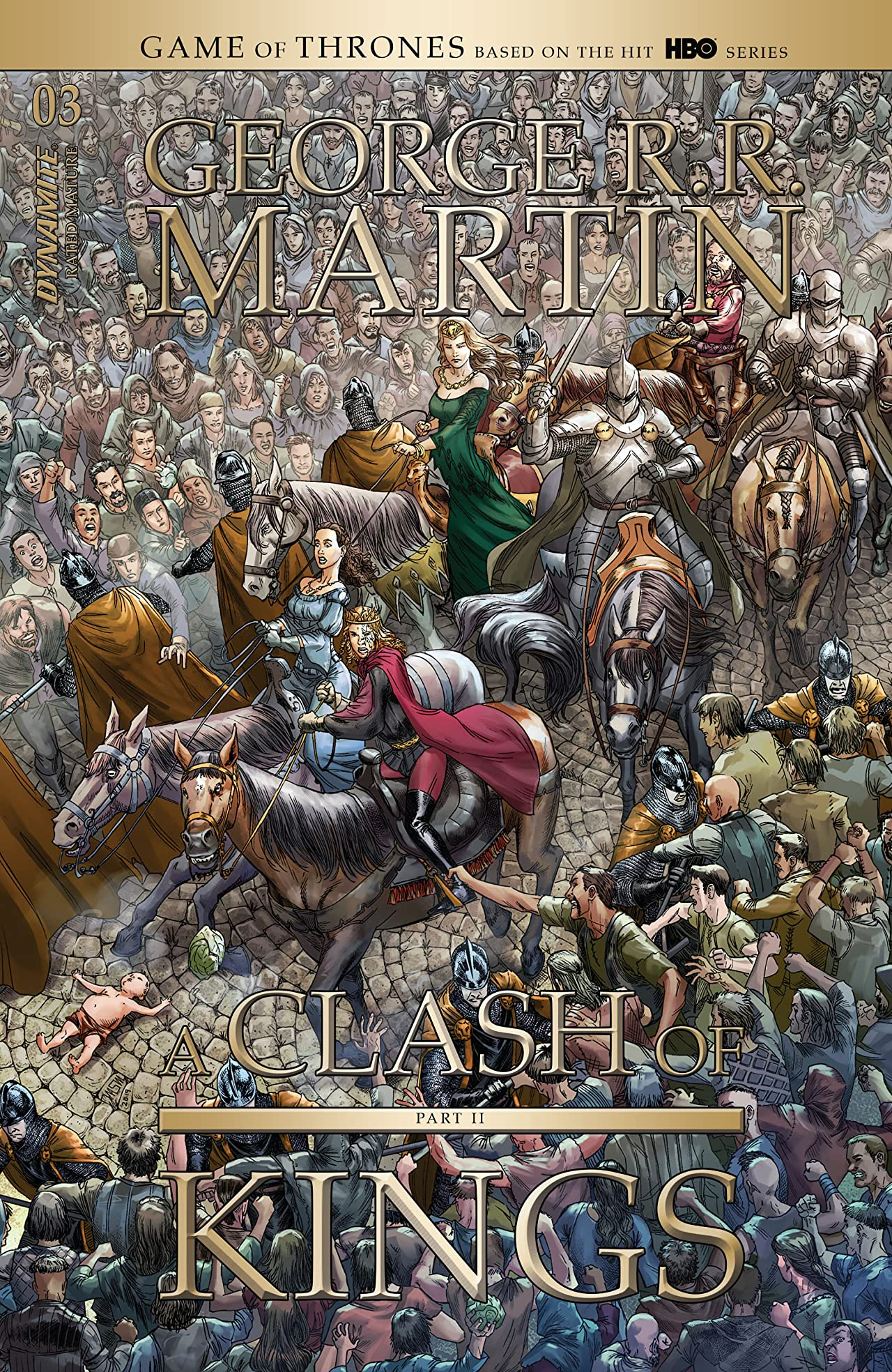 George R.R. Martin's A Clash Of Kings: The Comic Book Vol. 2 #3