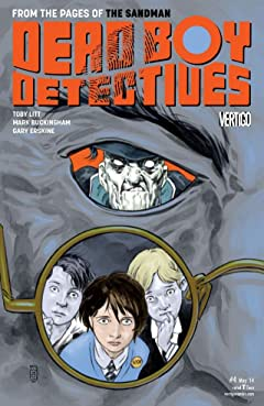 The Dead Boy Detectives (2013-2014) No.4