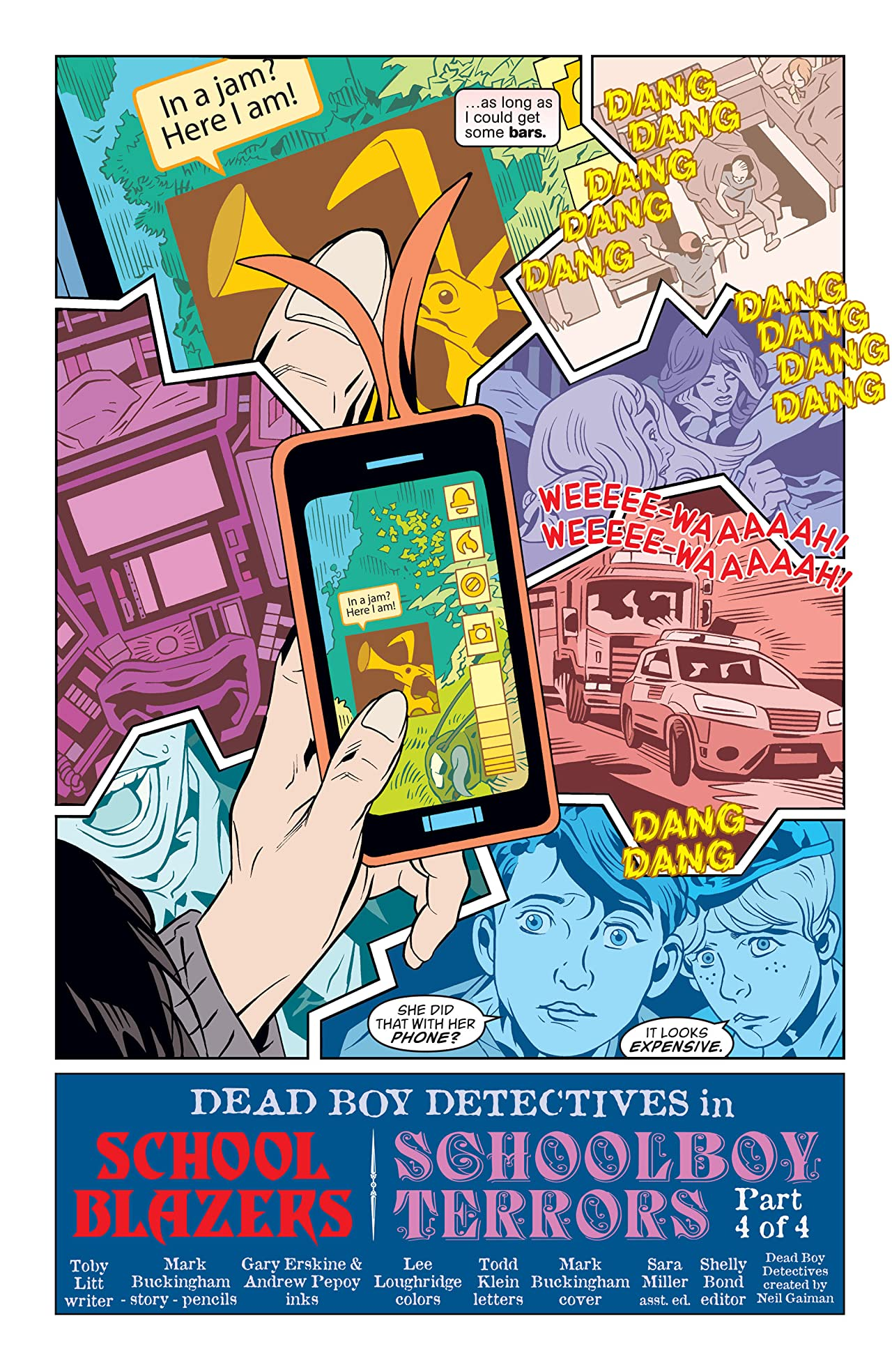The Dead Boy Detectives (2013-2014) #4