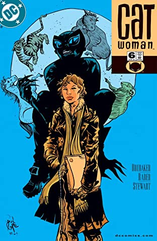 Catwoman (2002-2008) #6