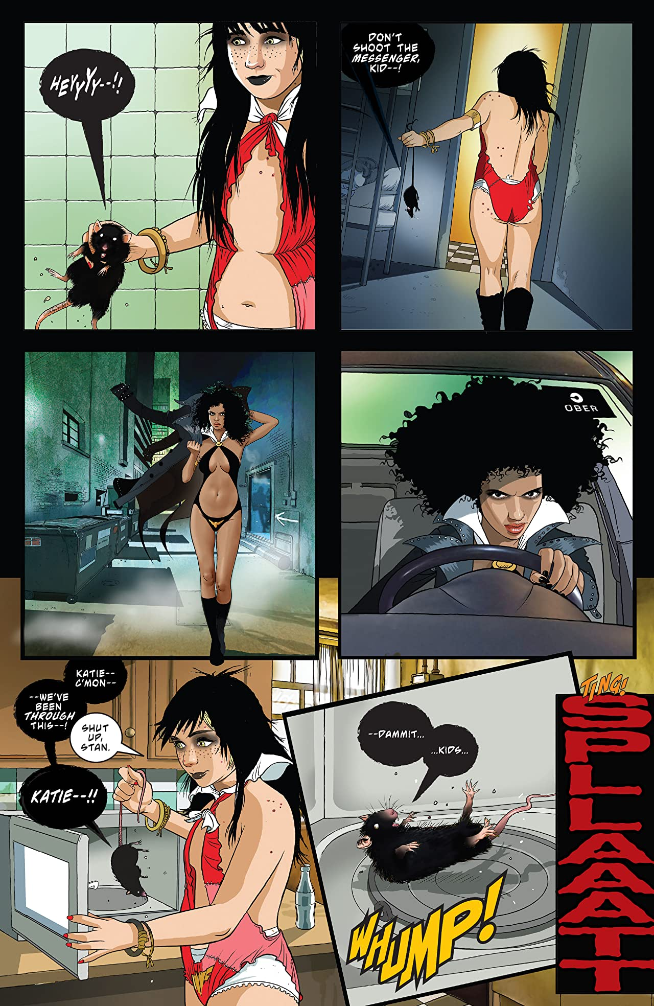 Vampirella: Seduction of the Innocent Vol 1