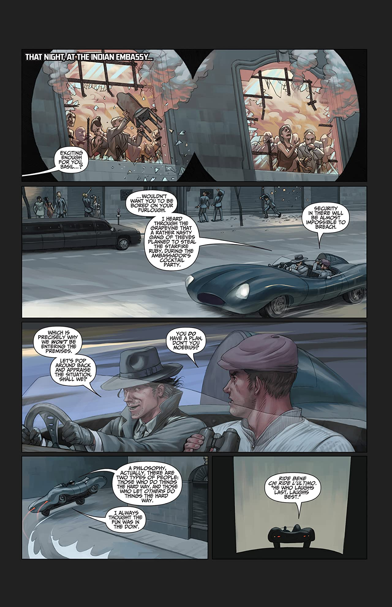The Adventures of Basil and Moebius #2