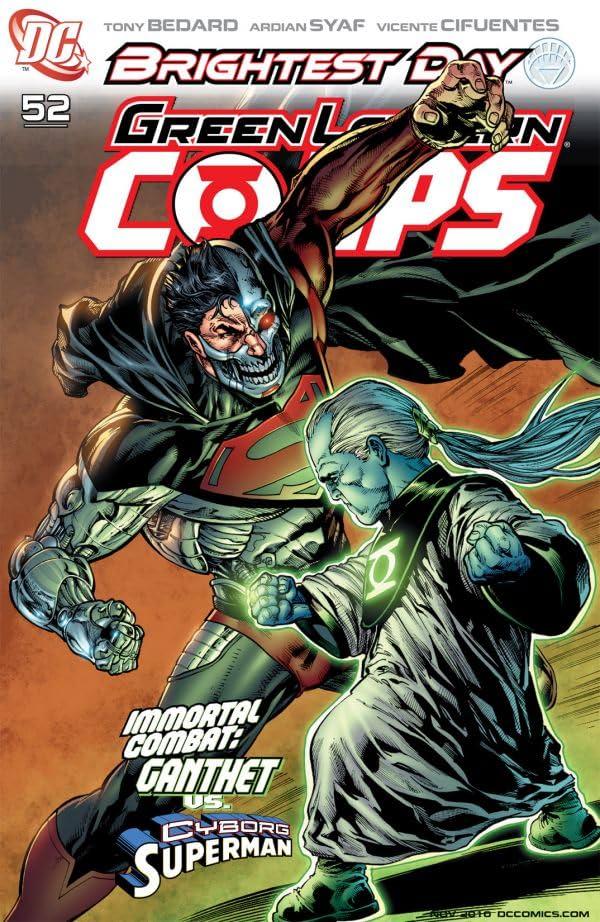 Green Lantern Corps (2006-2011) #52