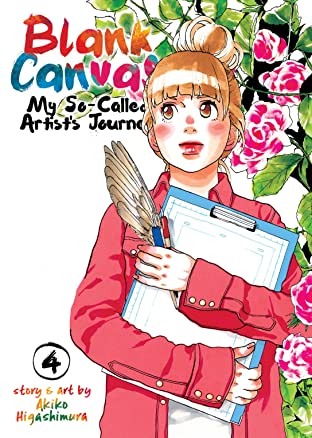 Blank Canvas: My So-Called Artist's Journey Tome 4