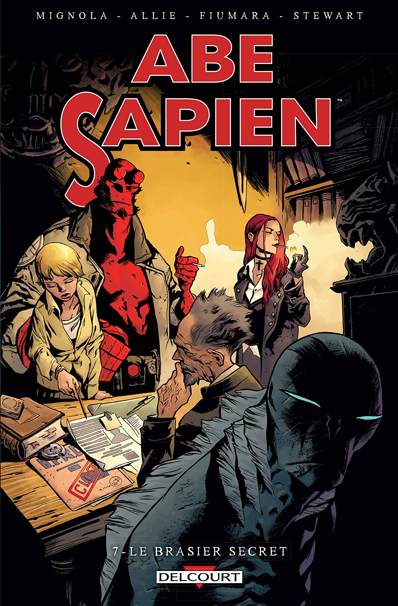 Abe Sapien Tome 7: Le brasier secret