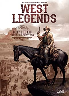 West Legends Vol. 2: Billy the Kid - the Lincoln county war