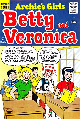 Archie's Girls Betty & Veronica #63
