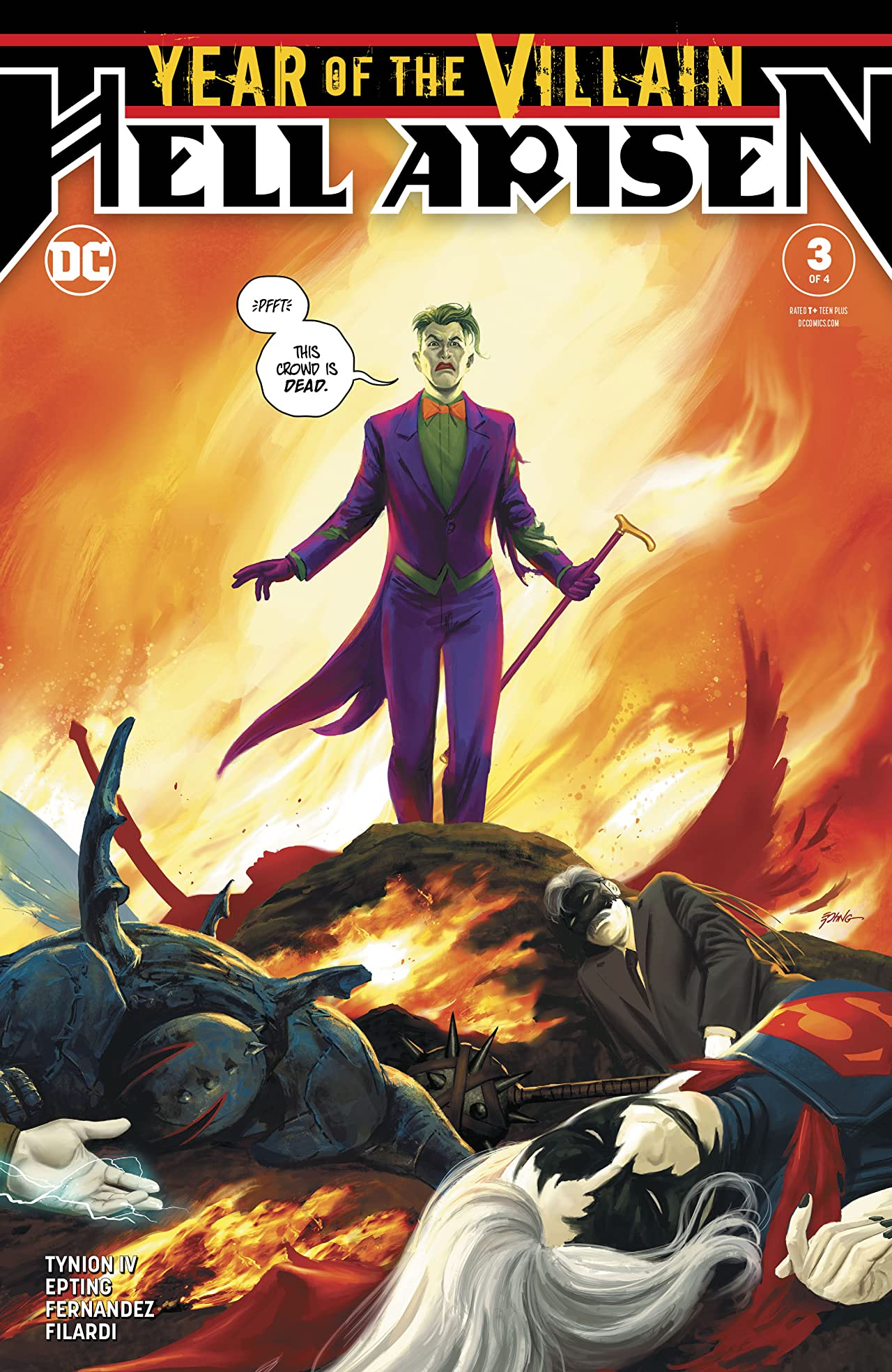 Year of the Villain: Hell Arisen (2019-) #3