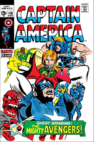 Captain America (1968-1996) No.116