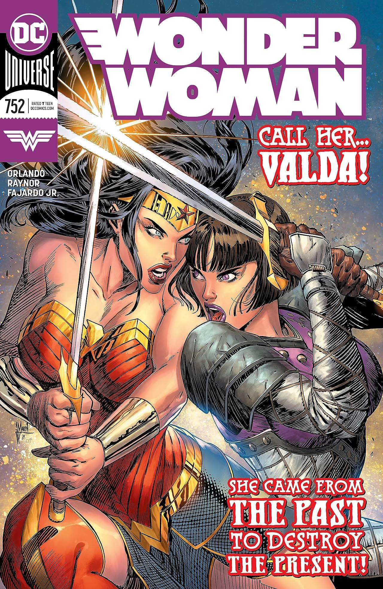 Wonder Woman (2016-) No.752