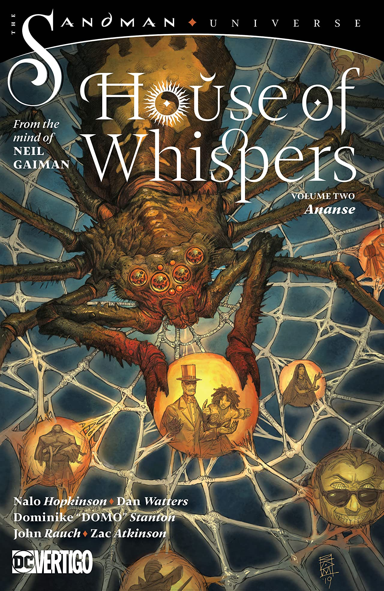 The House of Whispers (2018-) Vol. 2: Ananse