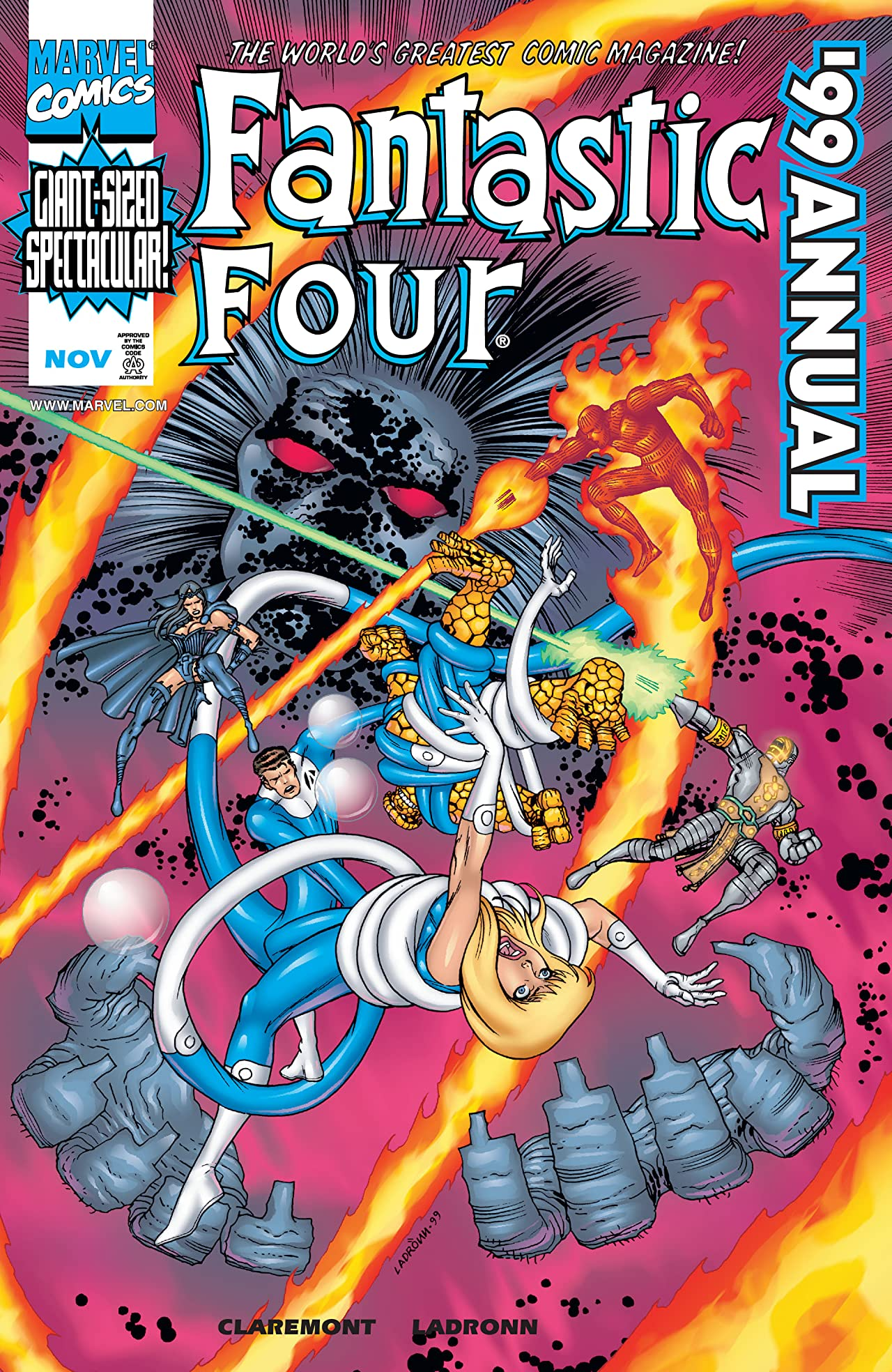 Fantastic Four Annual 1999 #1