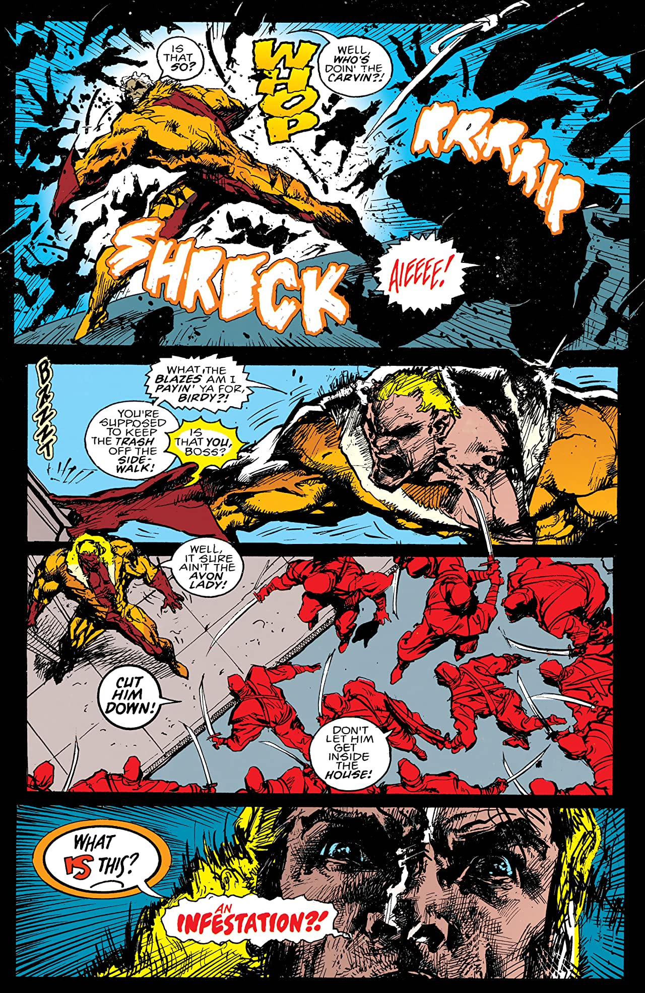 Sabretooth (1993) #1 (of 4)