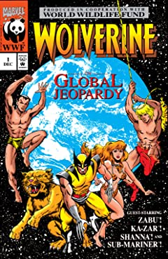 Wolverine: Global Jeopardy (1993) #1