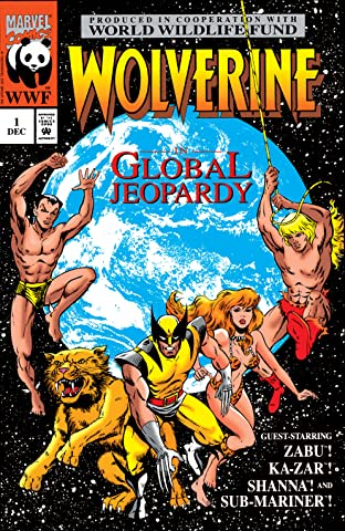 Wolverine: Global Jeopardy (1993) No.1
