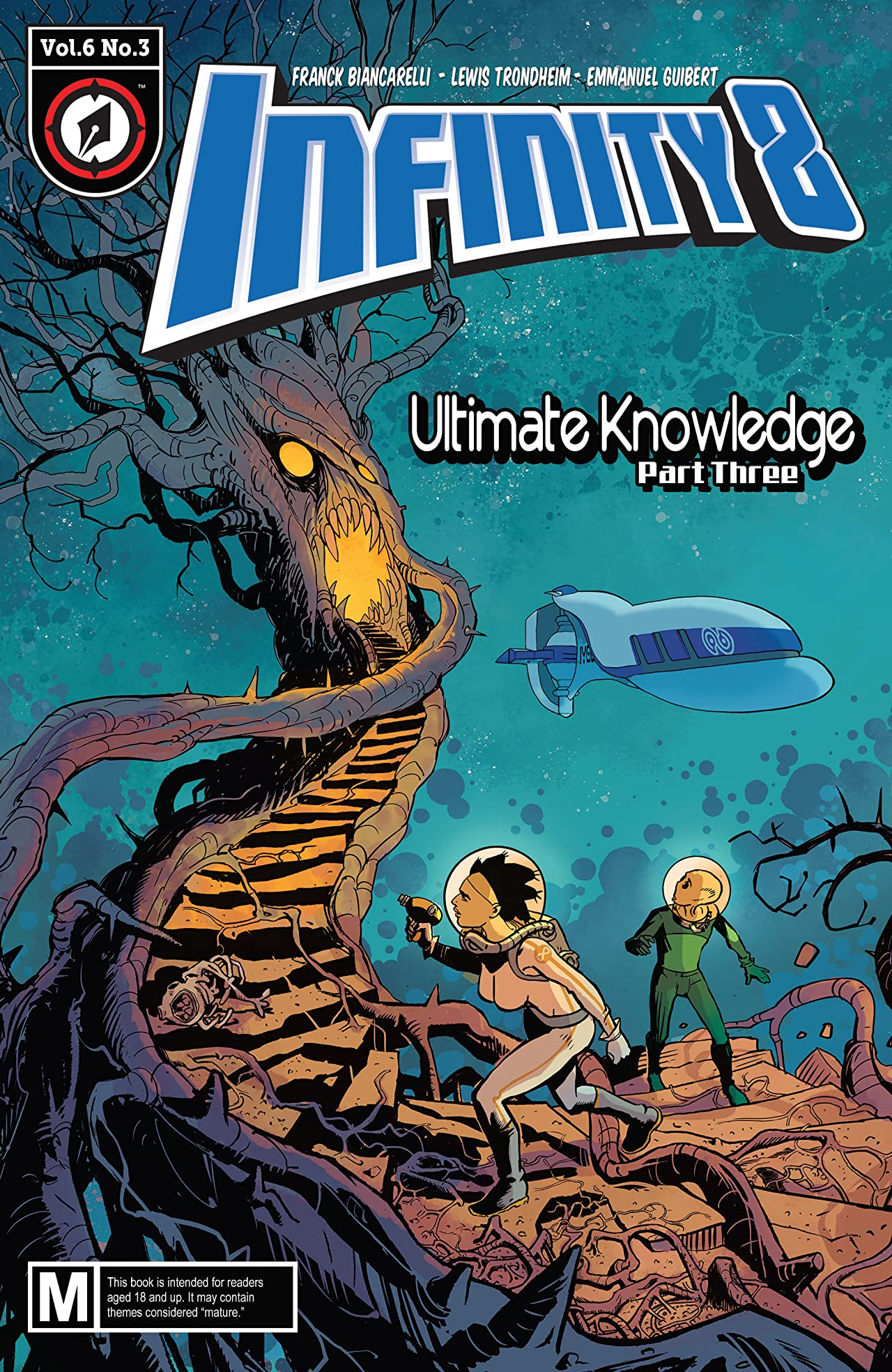 Infinity 8 #18: Ultimate Knowledge