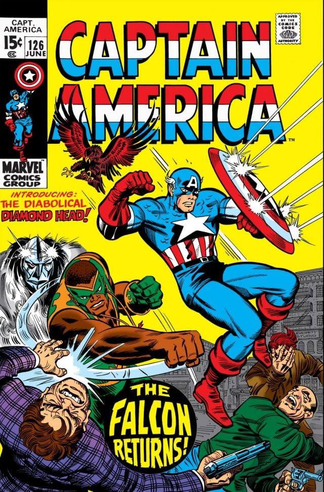 Captain America (1968-1996) #126