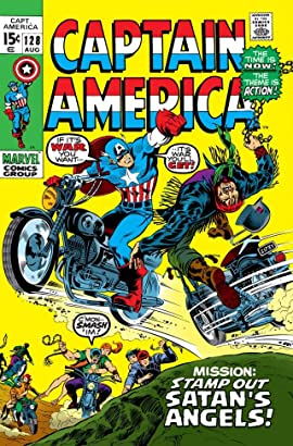 Captain America (1968-1996) #128