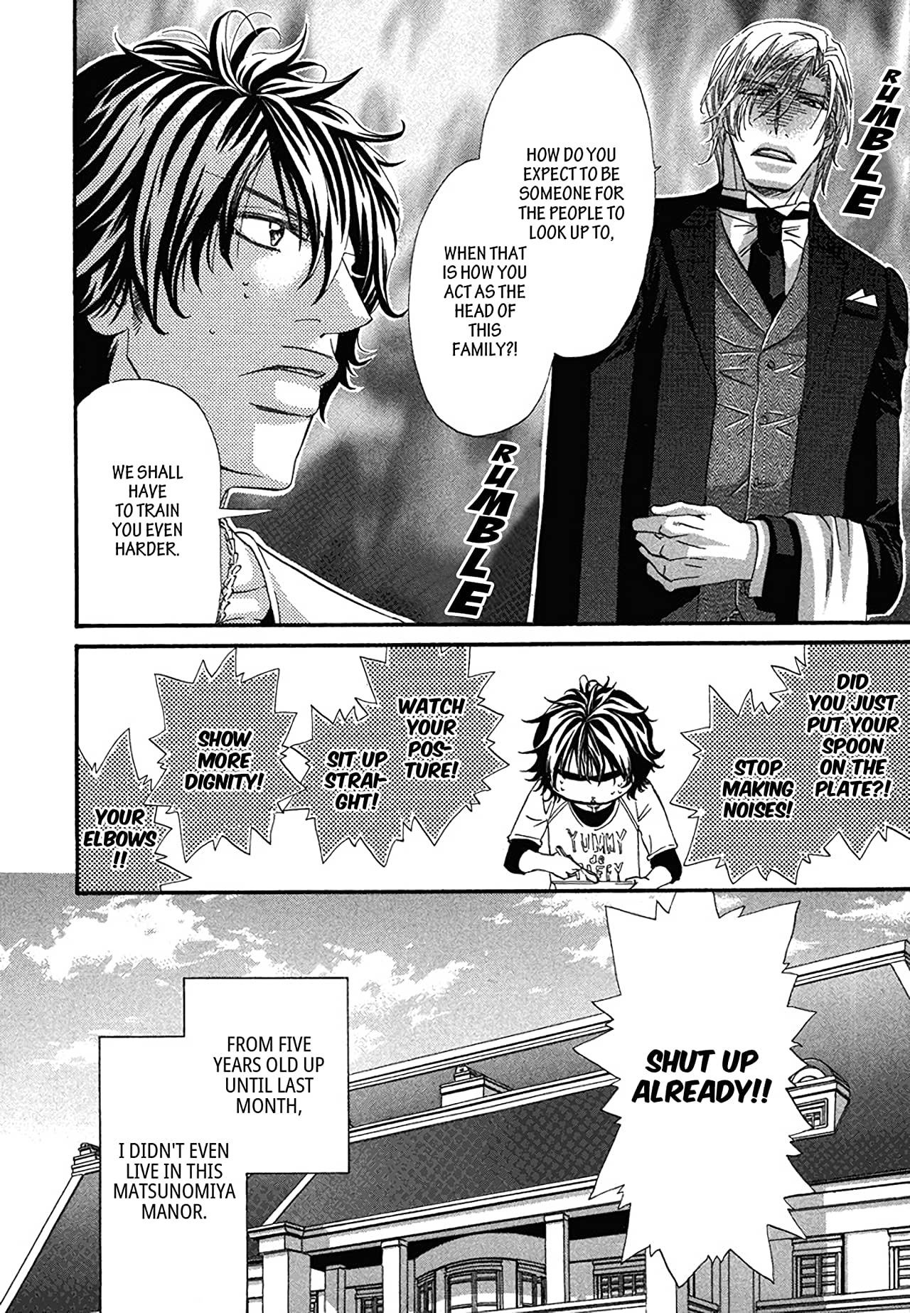 Just For The Butler (Yaoi Manga) Vol. 1