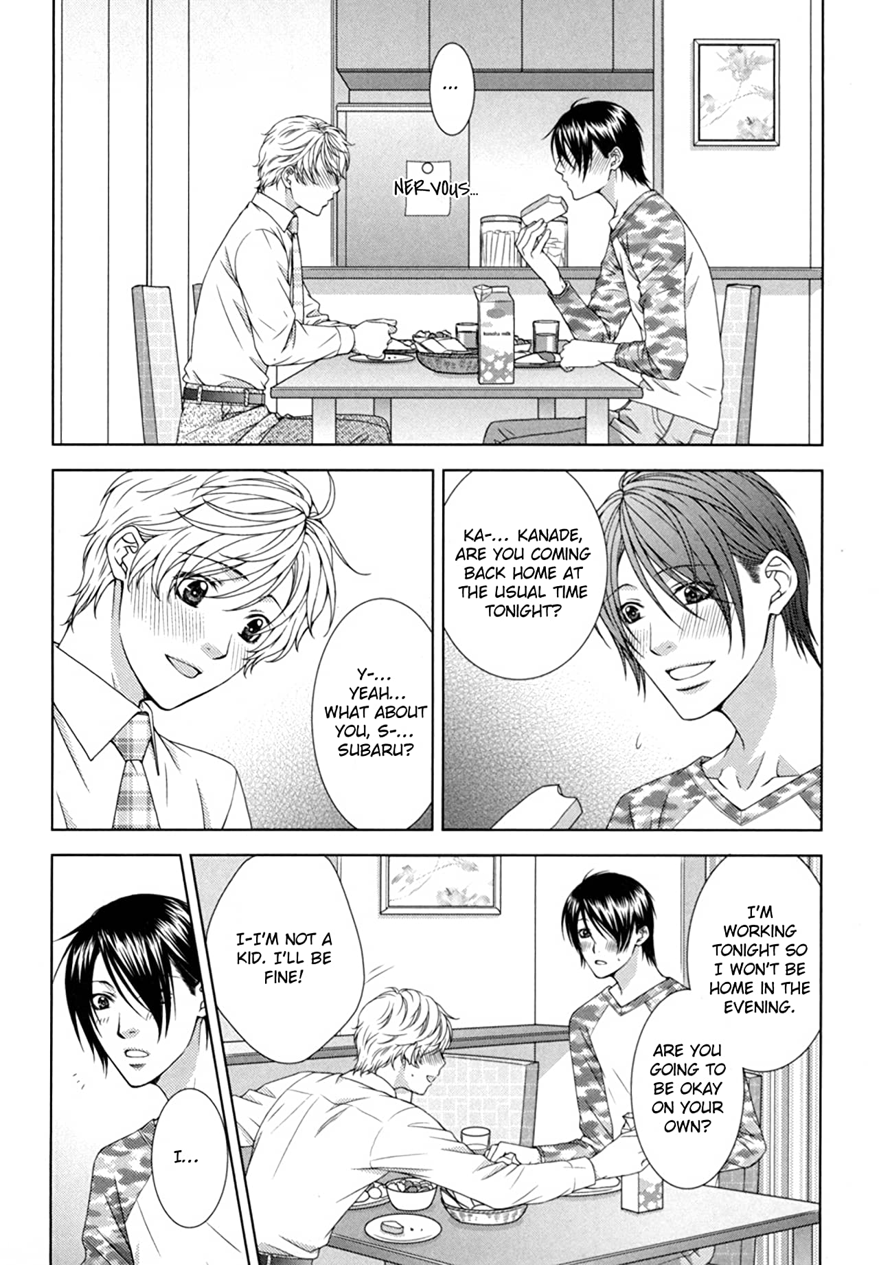 Why Don't We Start By Sharing For Now? (Yaoi Manga) Vol. 2