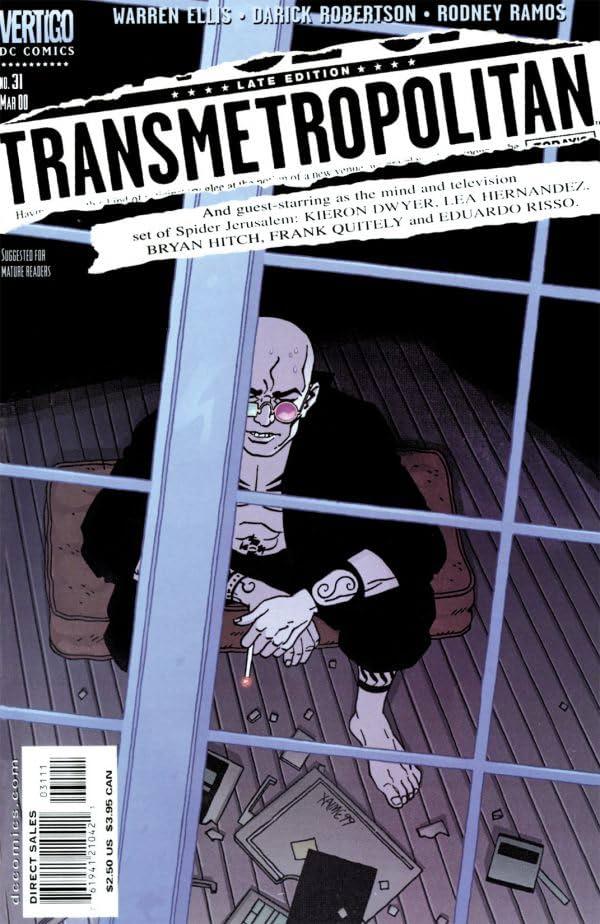 Transmetropolitan #31
