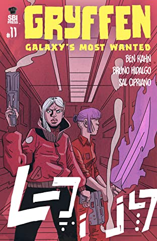 Gryffen: Galaxy's Most Wanted No.11
