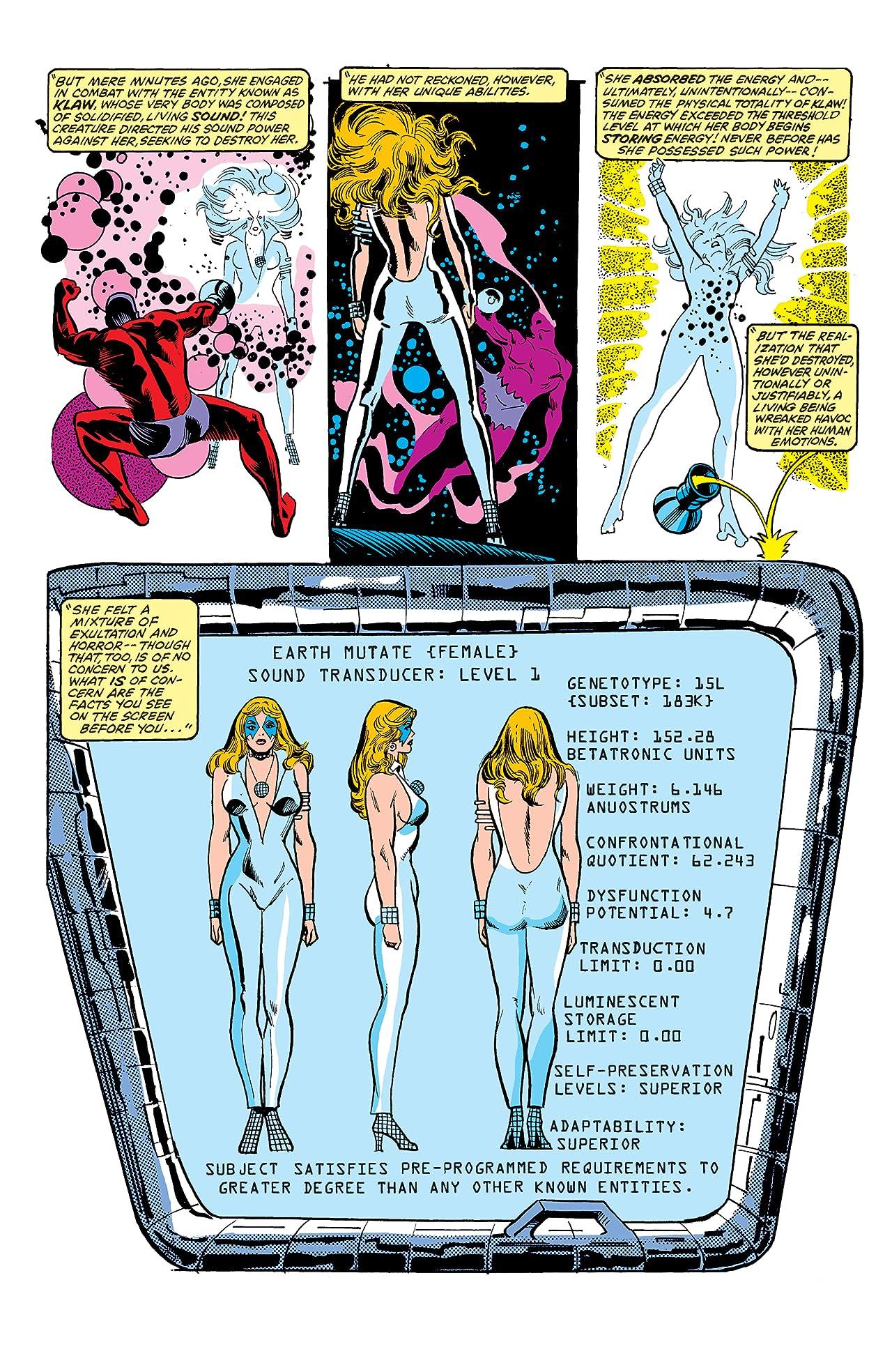 Dazzler (1981-1986) #10