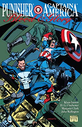 Punisher/Captain America: Blood & Glory (1992) #1 (of 3)