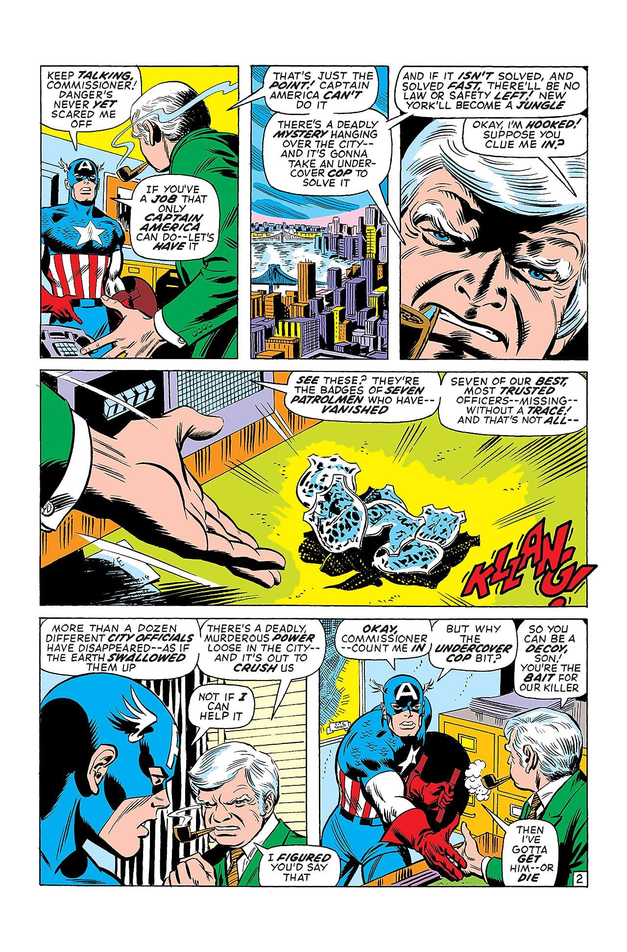 Captain America (1968-1996) #139