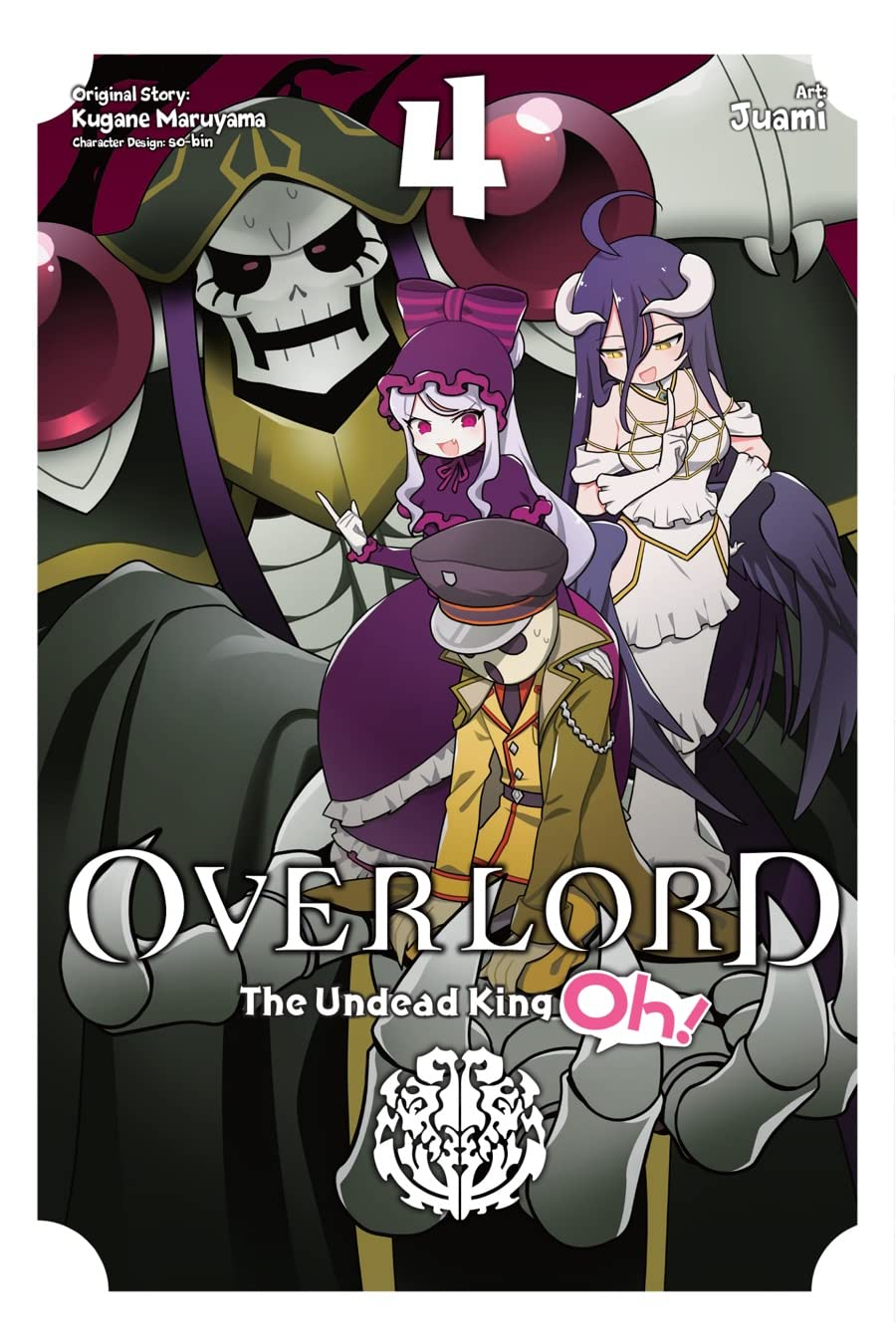 Overlord: The Undead King Oh! Tome 4