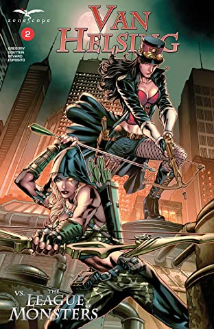Van Helsing vs The League of Monsters No.2