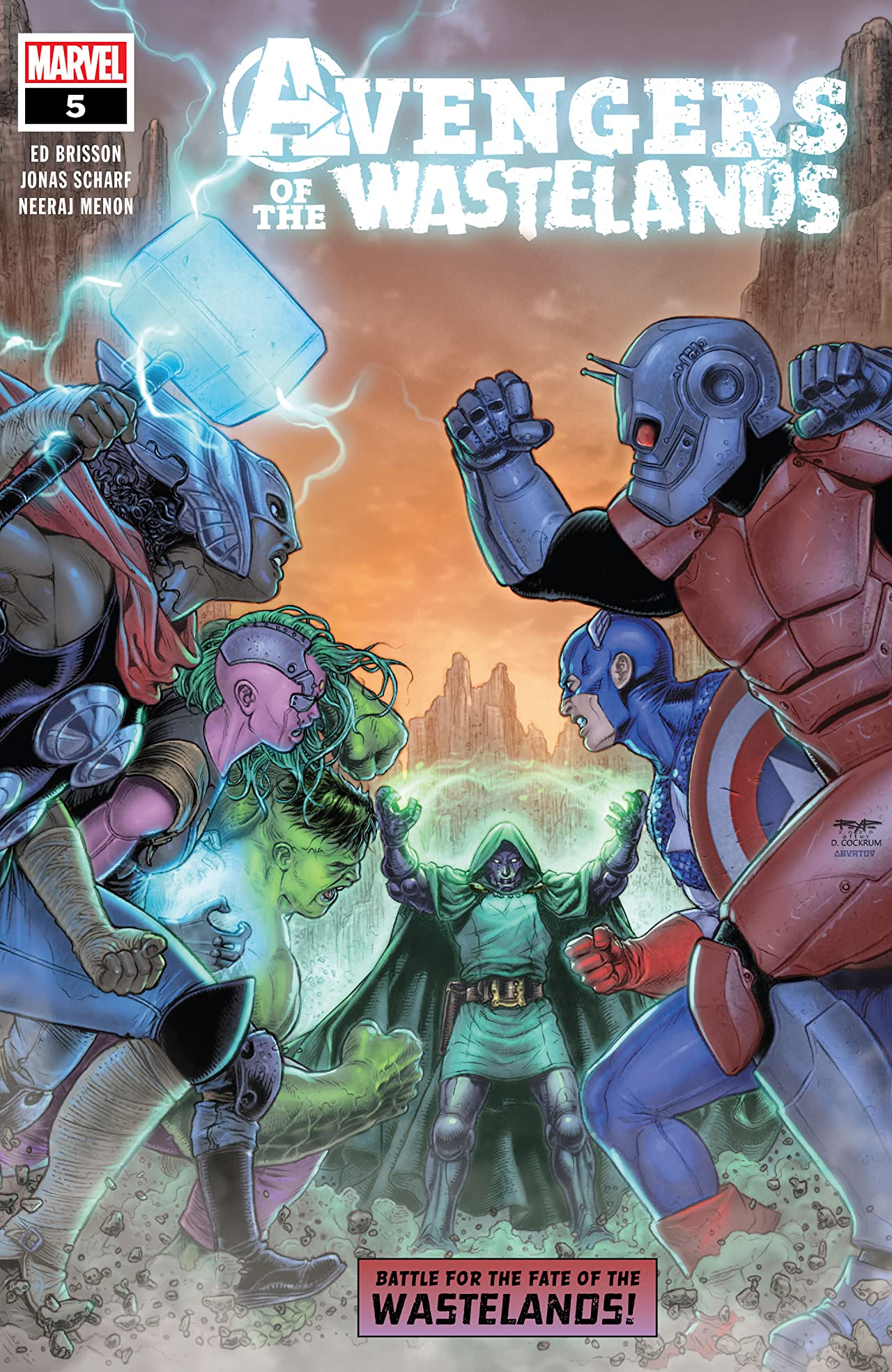 Avengers Of The Wastelands (2020) #5 (of 5)