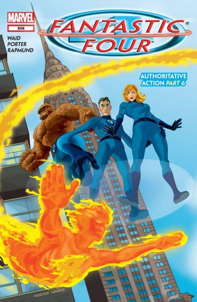 Fantastic Four (1998-2012) #508
