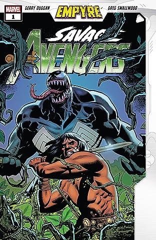 Empyre: Savage Avengers (2020) #1
