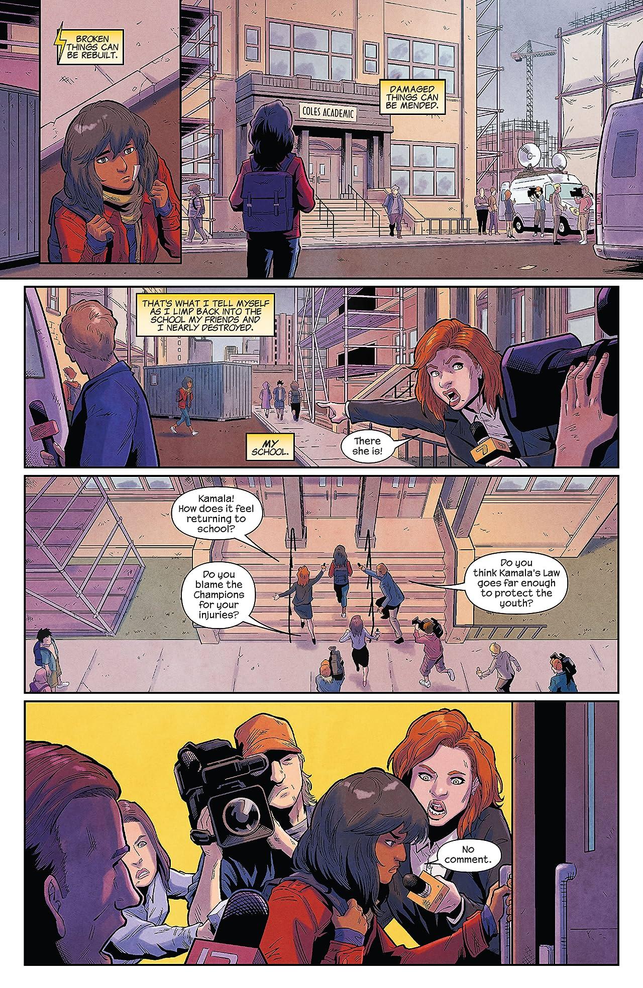 Magnificent Ms. Marvel (2019-) #15