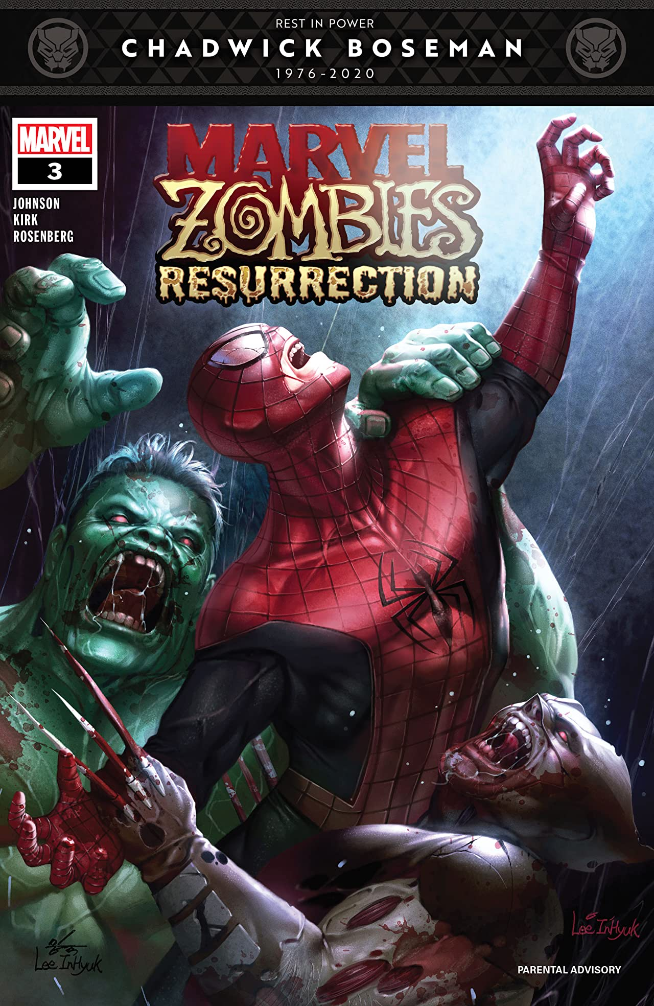 Marvel Zombies: Resurrection (2020) #3 (of 4)