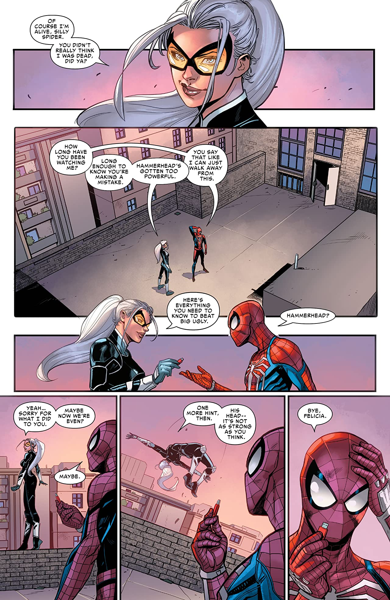 Marvel's Spider-Man: The Black Cat Strikes (2020) #5 (of 5)