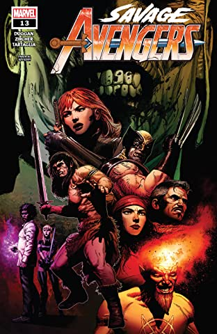 Savage Avengers (2019-) No.13