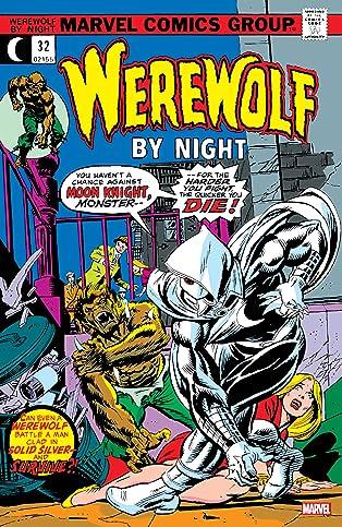 Werewolf By Night (1972-1988) #32: Facsimile Edition