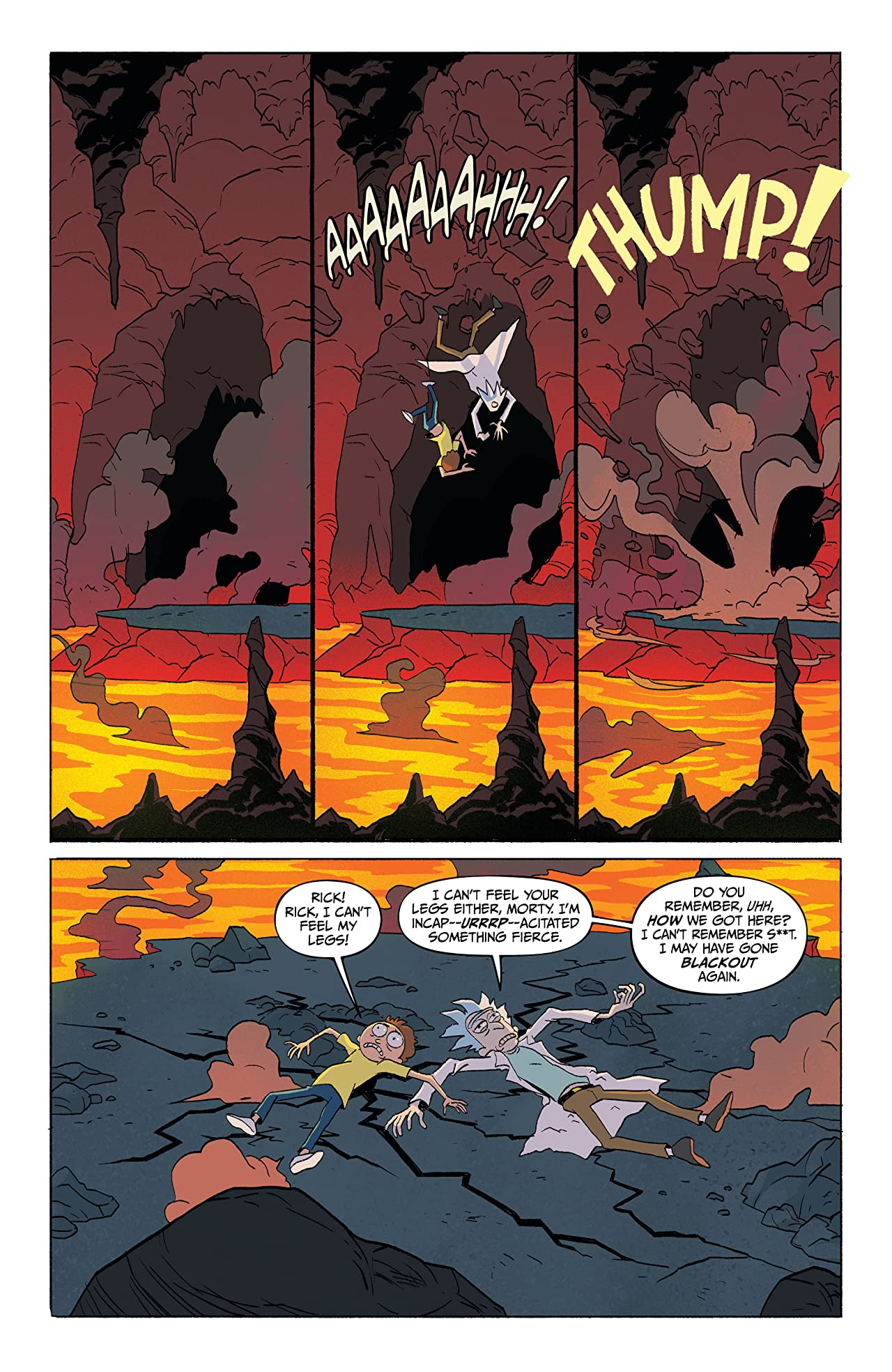 Rick and Morty #1: Go To Hell