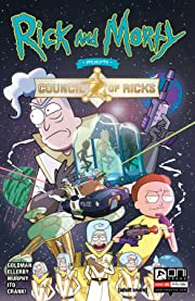 Rick and Morty Presents: The Council of Ricks #1