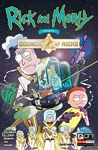 Rick and Morty Presents #1: The Council of Ricks