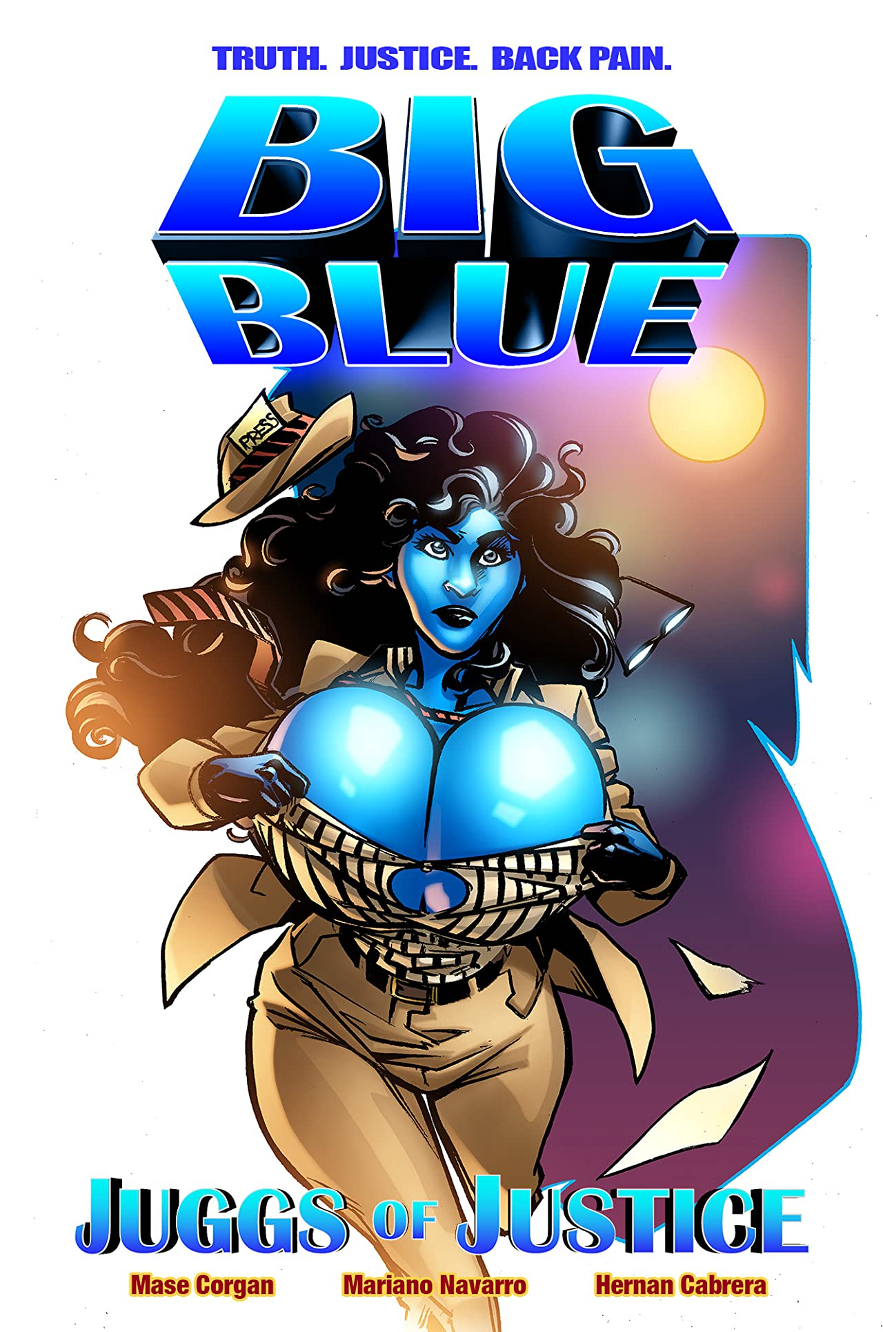 Big Blue: Juggs of Justice: The Complete Graphic Novel