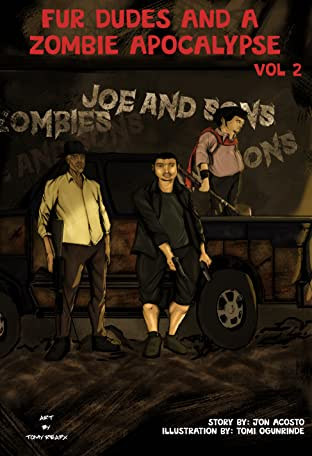 Four Dudes and a Zombie Apocalypse #2
