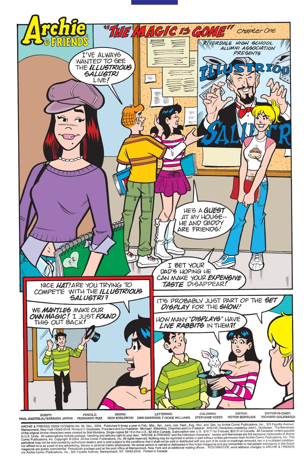 Archie & Friends #85