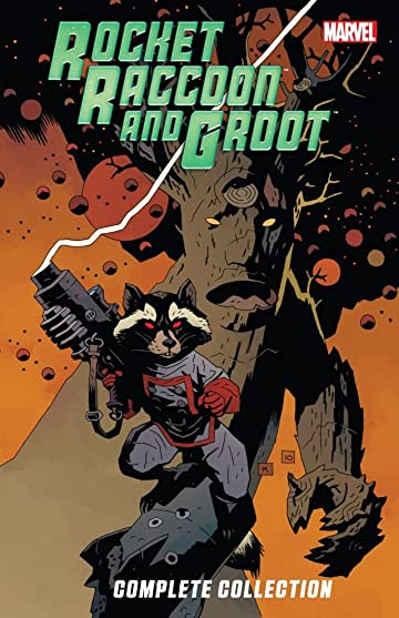 Rocket Raccoon And Groot Ultimate Collection