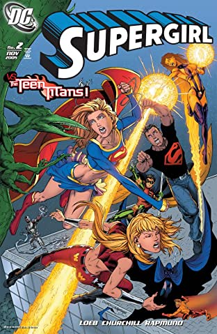 Supergirl (2005-2011) No.2