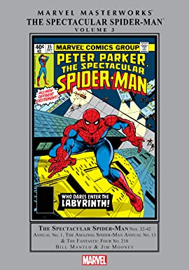 Spectacular Spider-Man Masterworks Vol. 3