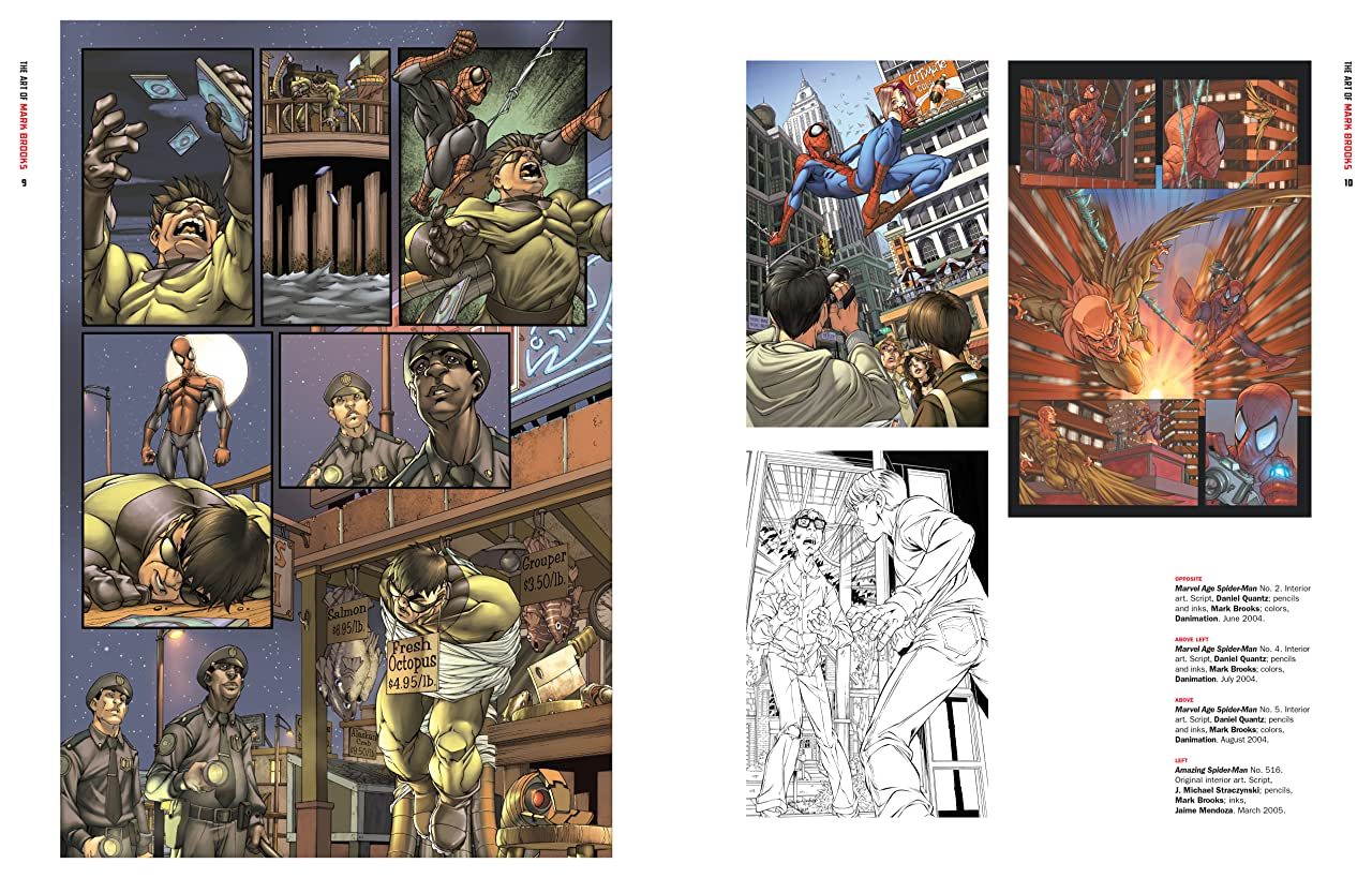 Marvel Monograph: The Art Of Mark Brooks