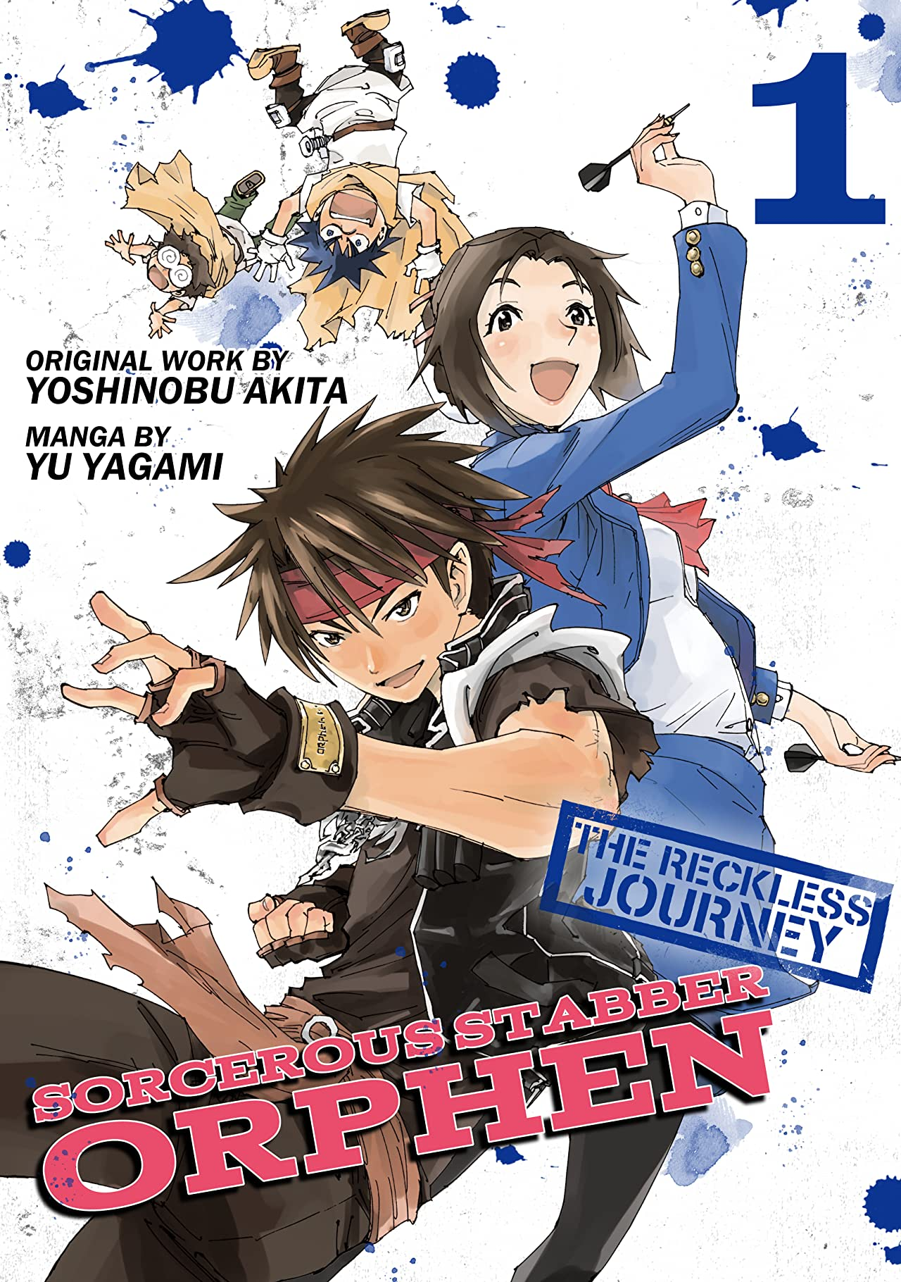 Sorcerous Stabber Orphen: The Reckless Journey Tome 1